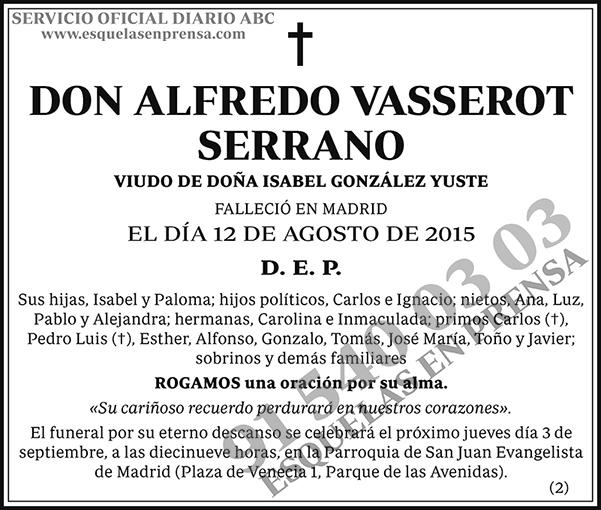 Alfredo Vasserot Serrano
